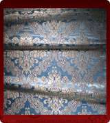 Metallic Brocade Fabric - 385-LB-DB-SM