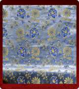 Metallic Brocade Fabric - 415-LB-DB-GM