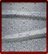 Metallic Brocade Fabric - 445-LB-DB-SM