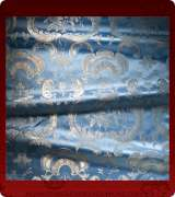 Metallic Brocade Fabric - 585-LB-LB-SM