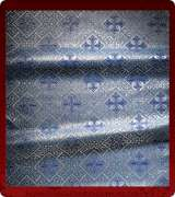 Metallic Brocade Fabric - 610-LB-DB-SM