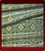 Rayon Brocade Fabric - 805-LB-NO-GS