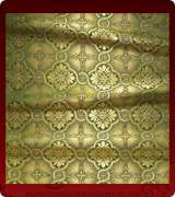 Metallic Brocade Fabric - 450-GR-GR-GM