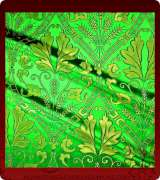 Metallic Brocade Fabric - 520-GR-GR-GM