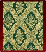 Metallic Brocade Fabric - 630-GR-GR-GM