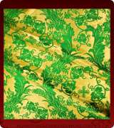 Metallic Brocade Fabric - 640-GM-NO-GV