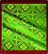 Rayon Brocade Fabric - 805-GR-NO-GS