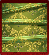 Rayon Brocade Fabric - 815-GR-NO-GS