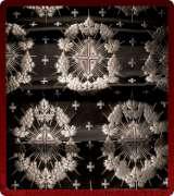 Metallic Brocade Fabric - 335-BK-WS-SM