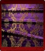 Metallic Brocade Fabric - 345-PR-BR-GM