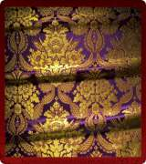 Metallic Brocade Fabric - 355-PR-BR-GM