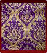 Metallic Brocade Fabric - 420-PR-PR-GM