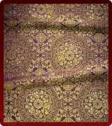 Metallic Brocade Fabric - 445-PR-PR-GM