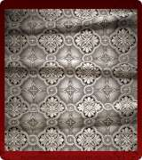Metallic Brocade Fabric - 450-BK-GY-SM