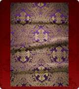 Metallic Brocade Fabric - 455-PR-PR-GM