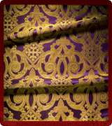 Metallic Brocade Fabric - 460-PR-PR-GM