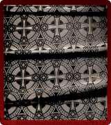 Metallic Brocade Fabric - 515-BK-GR-SM