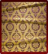 Metallic Brocade Fabric - 535-PR-PR-GM
