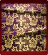 Metallic Brocade Fabric - 580-PR-GM-GM