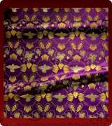 Metallic Brocade Fabric - 605-PR-PR-GM