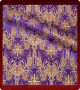 Metallic Brocade Fabric - 620-PR-BR-GM