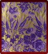Metallic Brocade Fabric - 625-GM-PR-PV