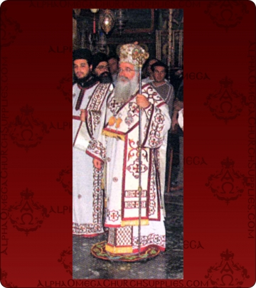 Embroidered Episcopal Vestments - 169