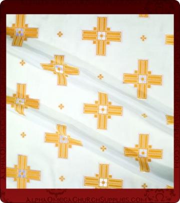 Metallic Brocade Fabric - 305-WS-WS-GM