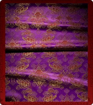 Metallic Brocade Fabric - 545-PR-BR-GM